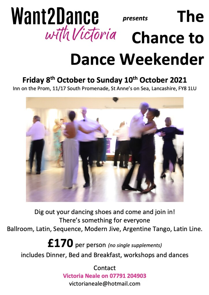 Chance to Dance Flier